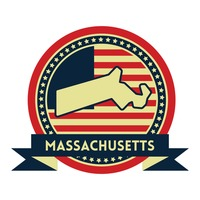 Massachusetts map label