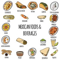 Mexican foods and beverages