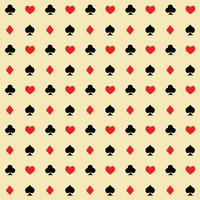 Playing cards background