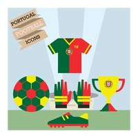 Portugal football icons