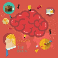 Power of the brain infographic