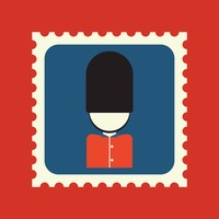 Royal guard postage stamp