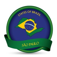 Sao paulo map label