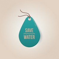 Save water tag