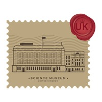 Science museum postage stamp
