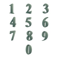 Set of 3d numbers
