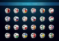 Set of football teams