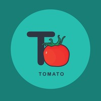T for tomato.