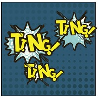 Ting comic speech bubble