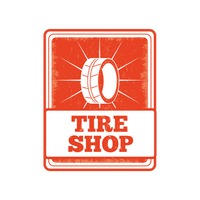 Tire shop sign