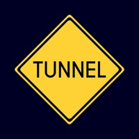 Tunnel road sign