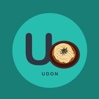 U for udon.