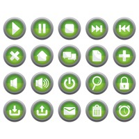 Various button icons