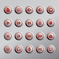 Web buttons icon