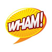 Wham comic speech
