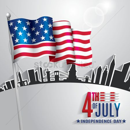 Star : 4th of july independence day poster