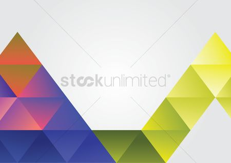 Vectors : Abstract background consisting of triangles