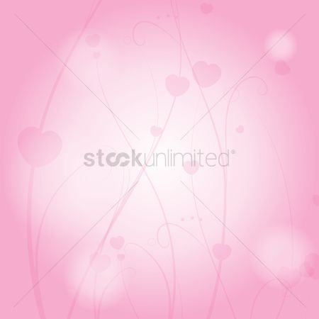 Heart : Abstract background