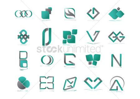 Ribbon : Abstract icon collection