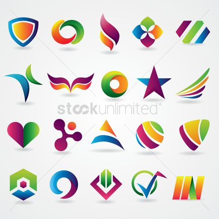 Star : Abstract icon set