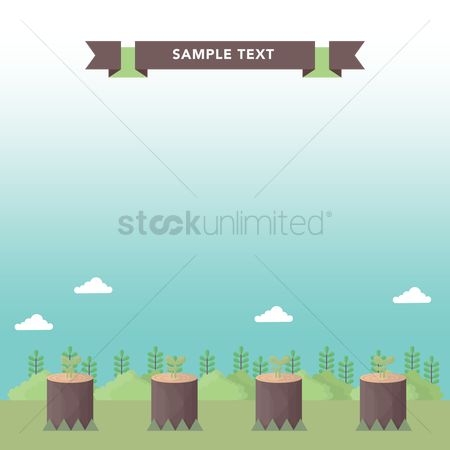 Environment : Background for text