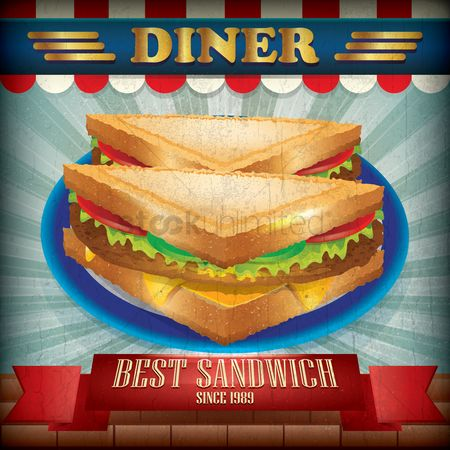 Vintage : Best sandwich wallpaper