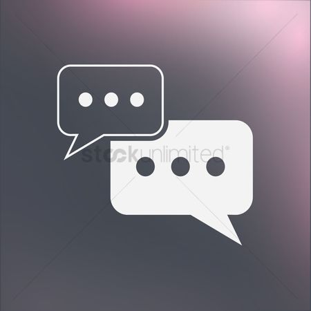 Vectors : Chat icon