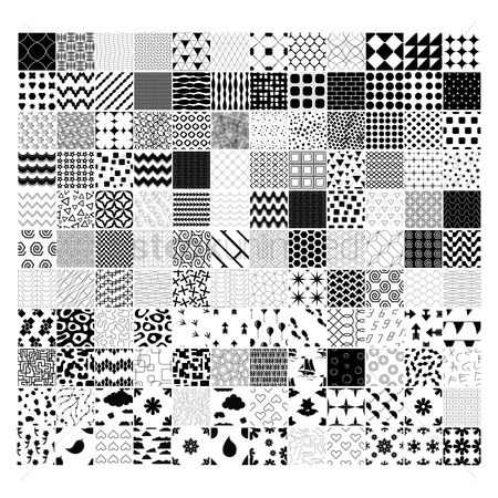 Patterns : Collection of abstract designs
