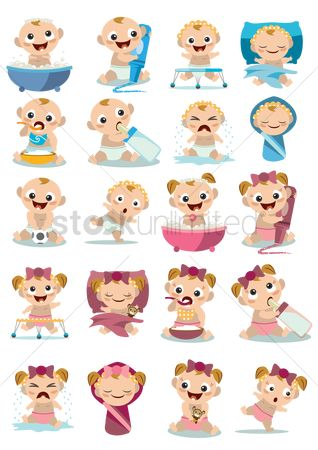 Cute : Collection of baby activities