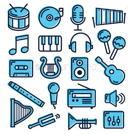 Music : Collection of musical instruments