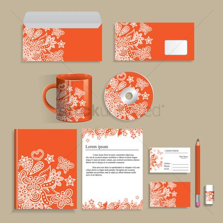 Floral : Corporate identity