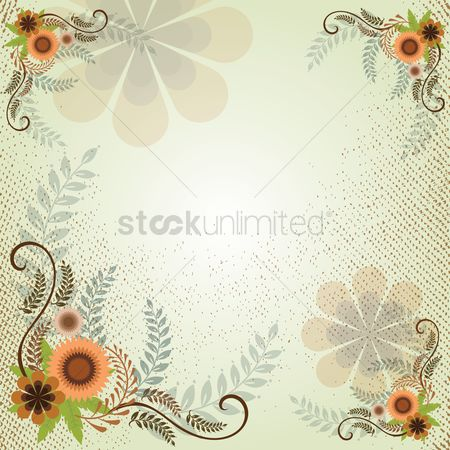 Background : Floral design