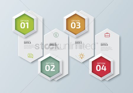Vectors : Infographic design elements