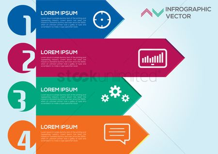 Infographic : Infographic template