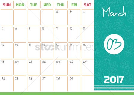 Free Third Month Stock Vectors | StockUnlimited