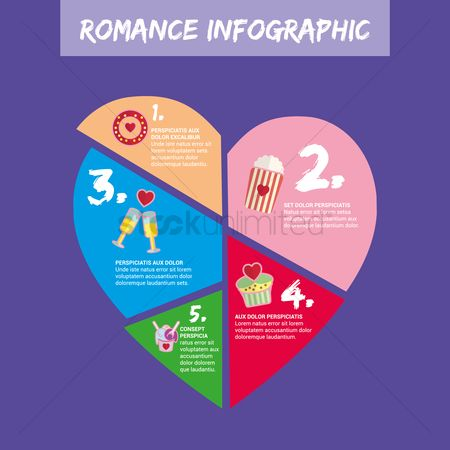 Romantic : Romance infographic