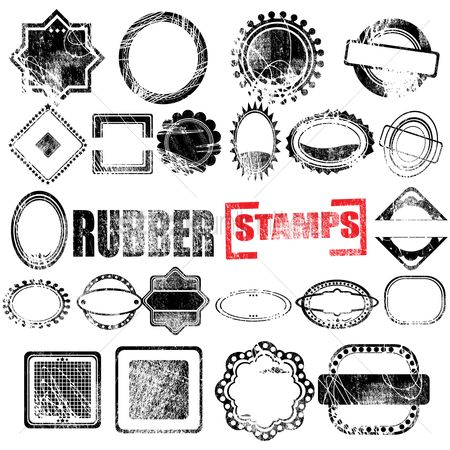 Grunge : Rubber stamps