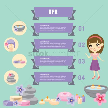 Spa : Spa infographic