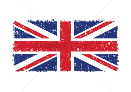 Grunge : United kingdom flag