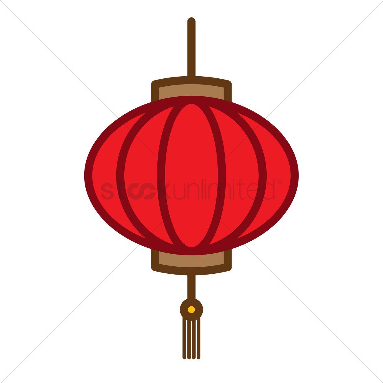 Chinese lantern Vector Image - 1972779 | StockUnlimited