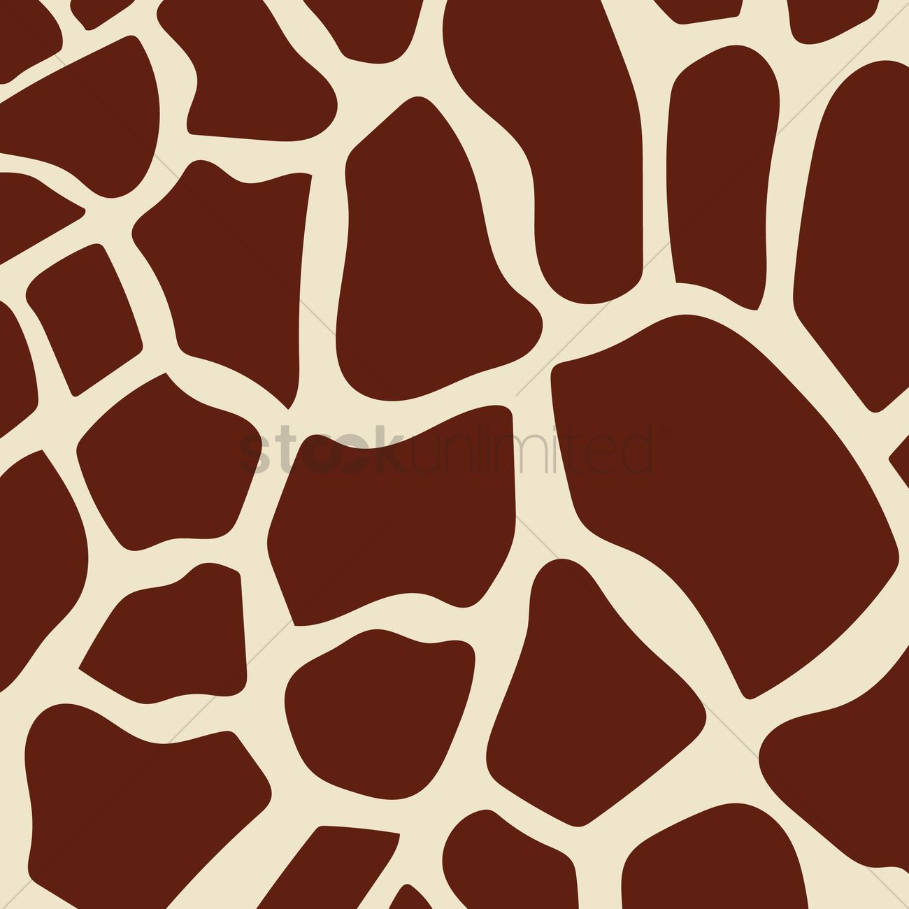 Real giraffe print background