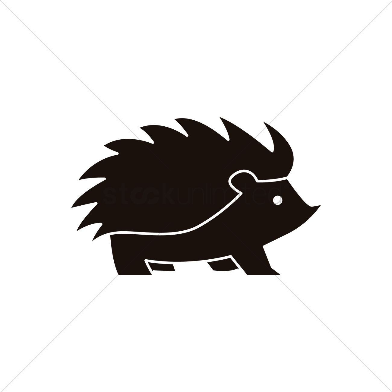 hedgehog icon vector image 1985123 stockunlimited Wildlife Clip Art wildlife clipart free download