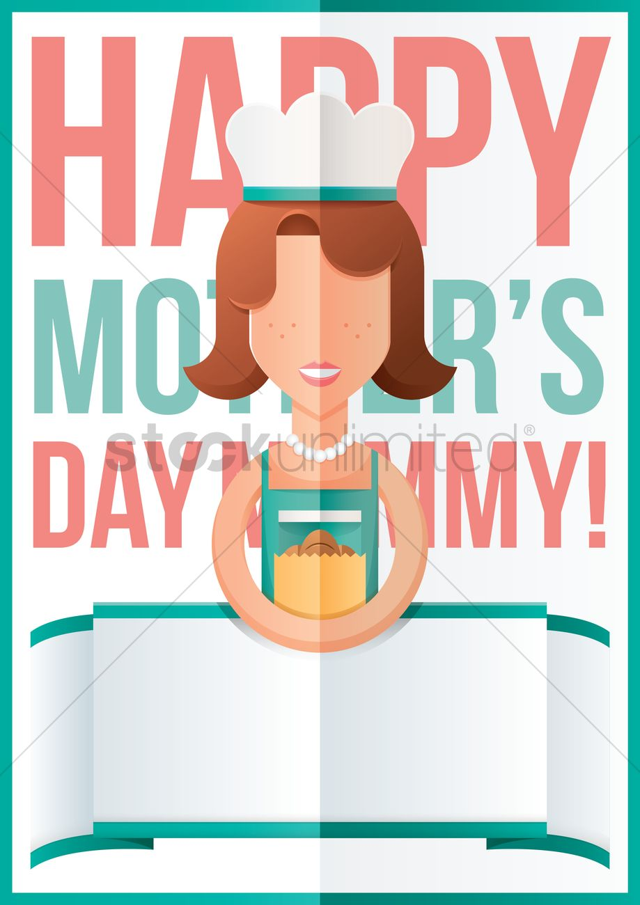mothers day design with chef vector image 1810771 stockunlimited