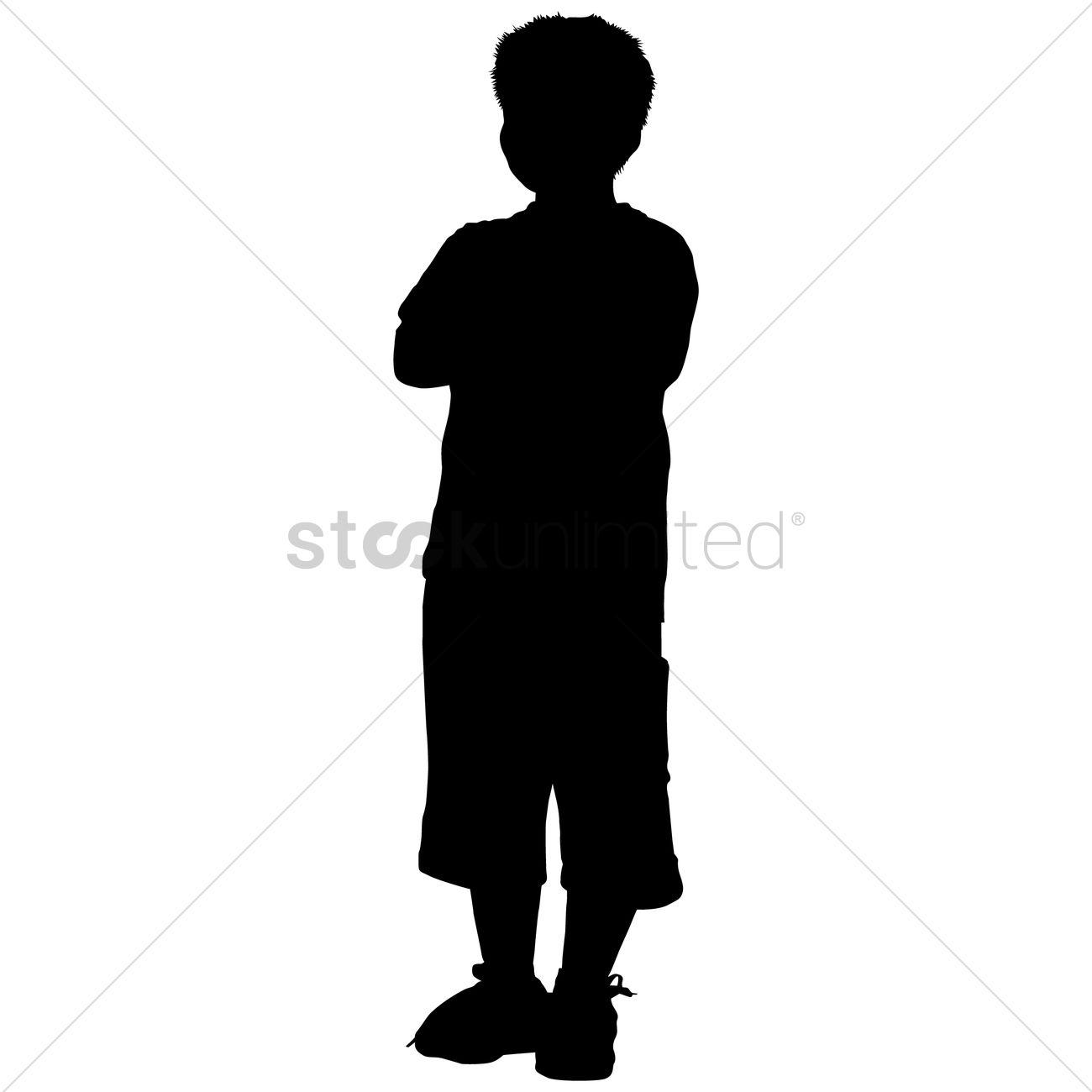 Boy Silhouette Standing | www.pixshark.com - Images ...