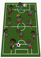 Cameroon team formation