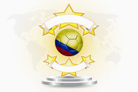 Colombia soccer ball emblem