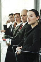Corporate people in the meeting room