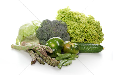 Food : Close-up of vegetable composition