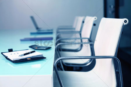 Business : Empty conference room