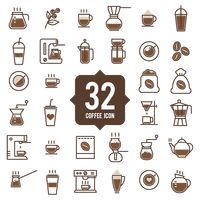 32 coffee icons
